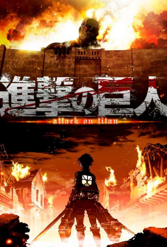 ataque titanes anime cartel